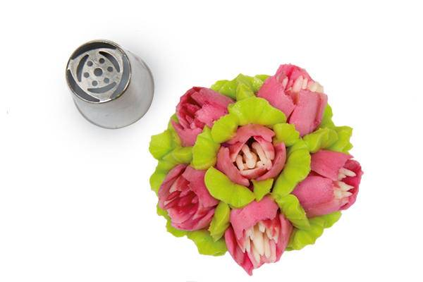 Koncovka na zdobení květiny 02 - Silikomart