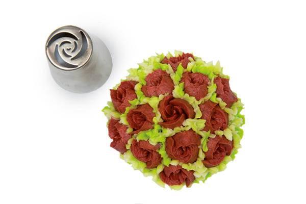 Koncovka na zdobení květiny 11 - Silikomart
