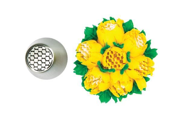 Koncovka na zdobení květiny 23 - Silikomart