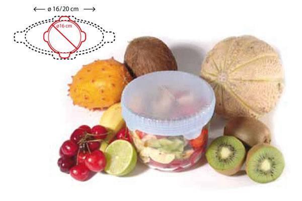 Silikonová fólie pro uskladnění potravin 160mm - Silikomart
