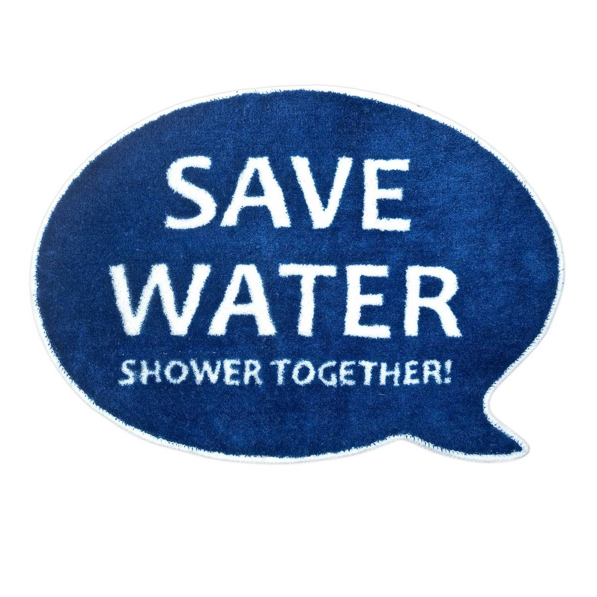 Koupelnová předložka Save Water - Balvi