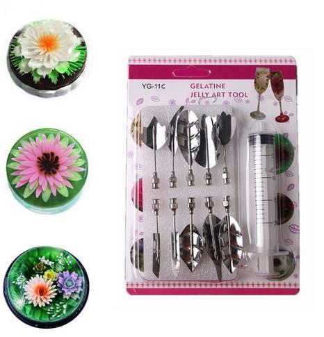 Jelly flower 10 kusů jehel na výrobu květin z želatiny růže - ILA