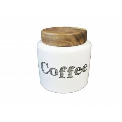 Kameninová dóza na kafe - Kolouch Import