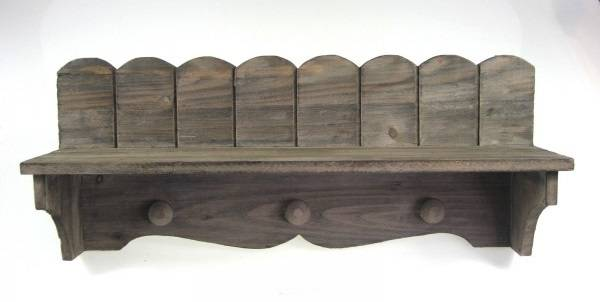 Dřevěná polička, délka 46 cm - IntArt