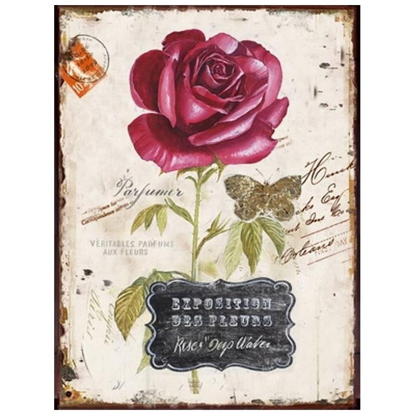 Obraz na plátně 25 x 30 cm Růže - Art