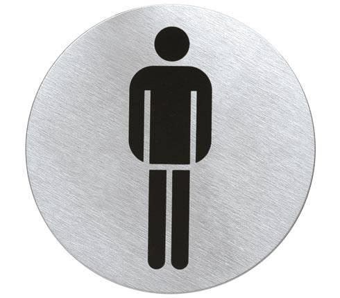 Kulatá značka na WC - páni - Blomus