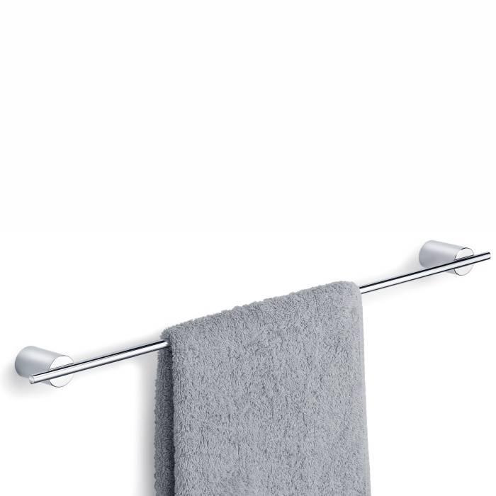 Nástěnná tyč na ručníky DUO - délka 60 cm, lesklý nerez - Blomus