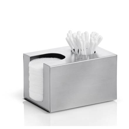 Nerezový box na vatové tyčinky a tampony Nexio - Blomus
