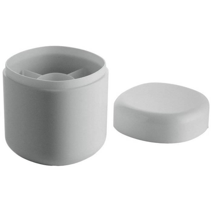 Zásobník na tampóny s víčkem Birillo - Alessi