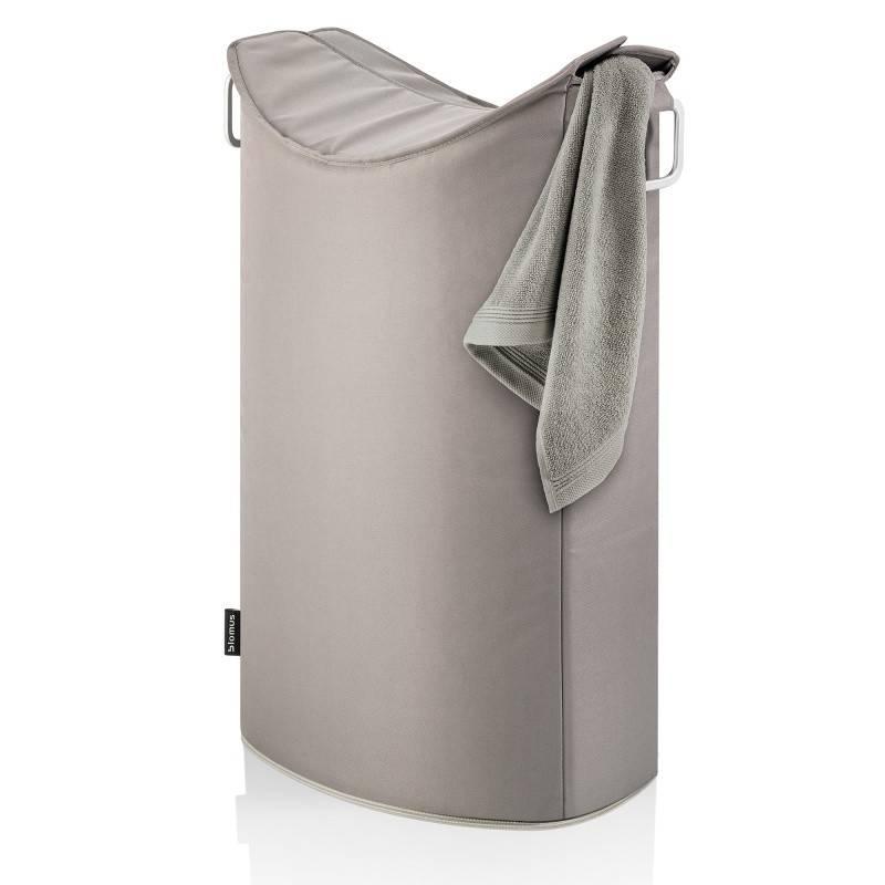 Koš na prádlo Frisco, šedohnědý - Blomus
