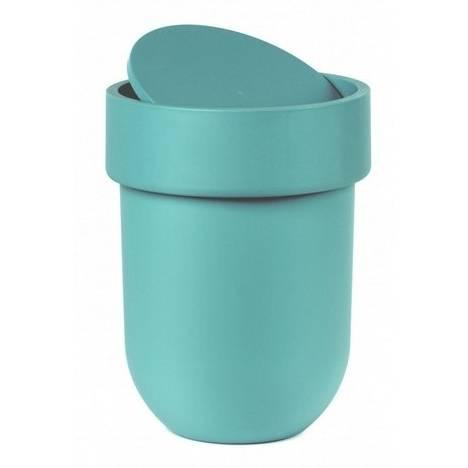 Odpadkový košík Touch s víkem, světle modrý - Umbra