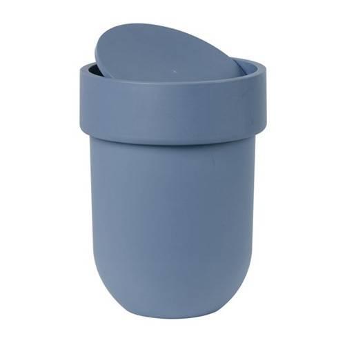 Odpadkový košík Touch s víkem, modrošedý - Umbra