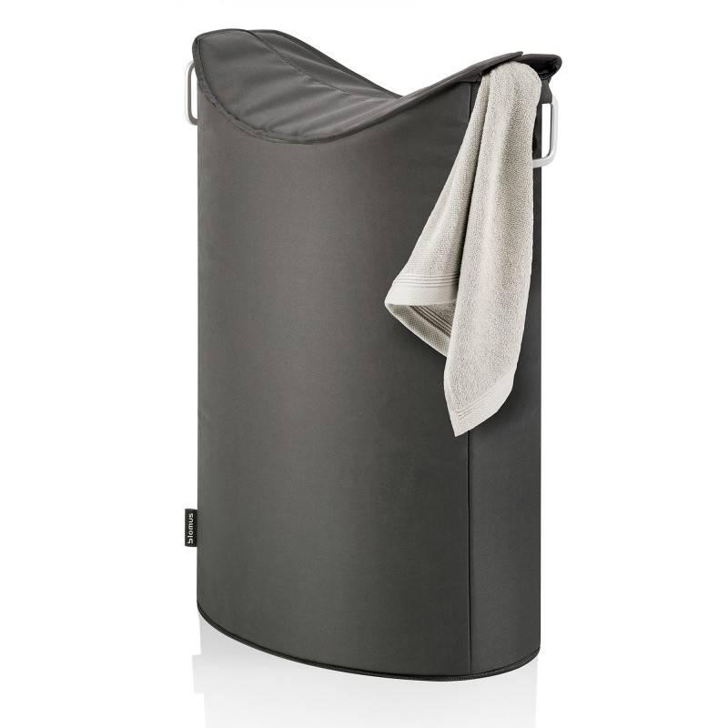 Koš na prádlo Frisco, tmavě šedý - Blomus