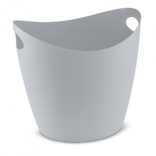 Koš na prádlo Bottichelli XL - 28 l, šedý - Koziol