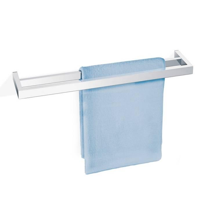 Závěsná dvojitá tyč na ručníky Linea, lesklá - Zack