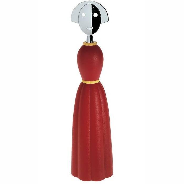Mlýnek na pepř Anna Pepper červený - Alessi