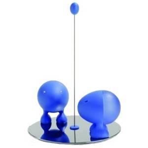 Lilliput sůl/pepř modrý - Alessi