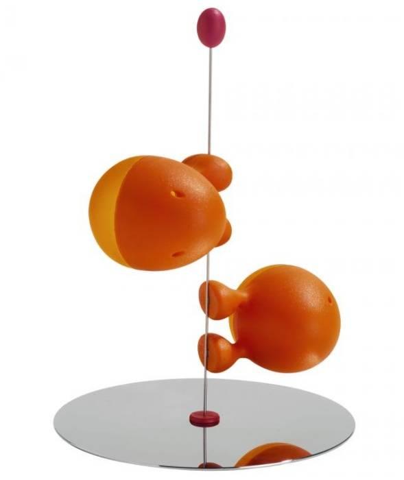 Lilliput sůl/pepř oranžový - Alessi