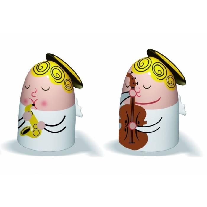 Porcelánové figurky k betlému: Andělíčci 1 - Alessi