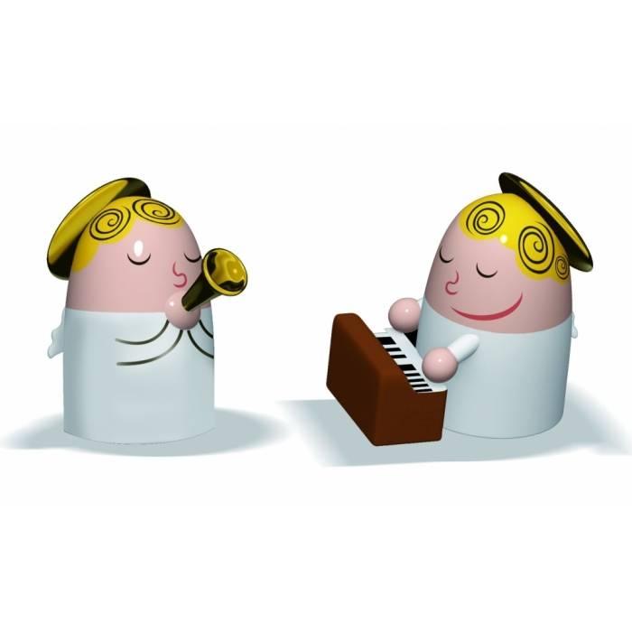Porcelánové figurky k betlému: Andělíčci 2 - Alessi