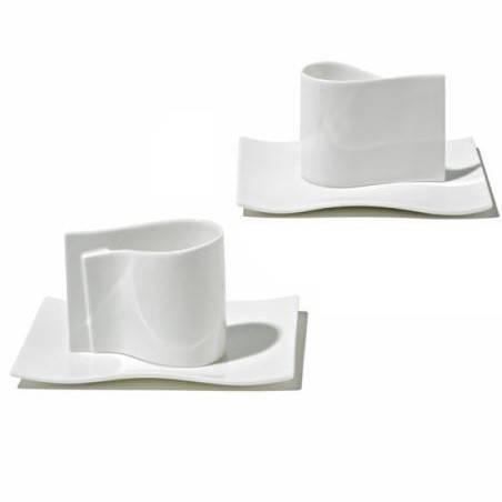 Alessi šálky na espresso E-LI-LI - Alessi