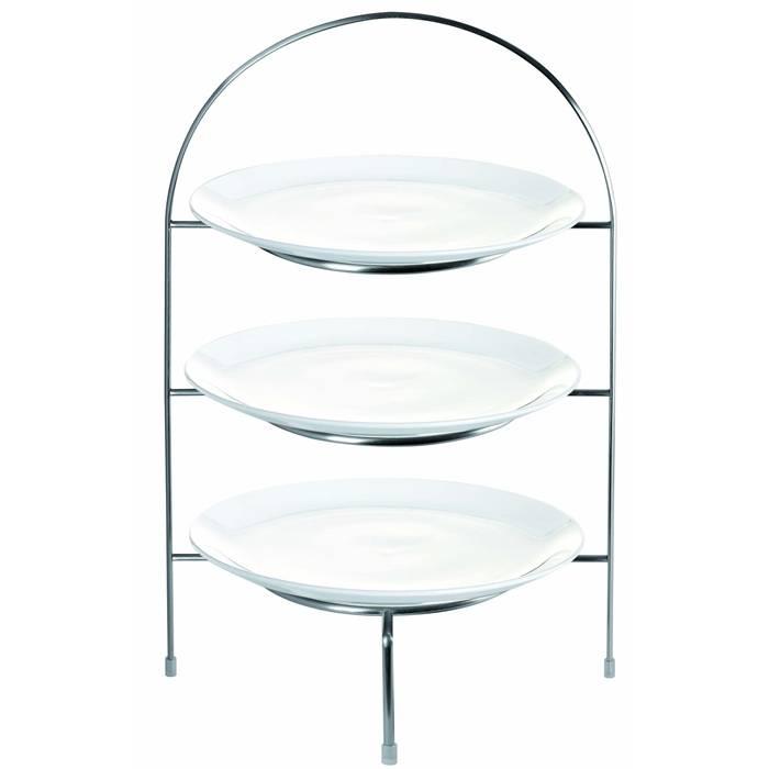 Třípatrový etažér na mělké talíře - ASA Selection
