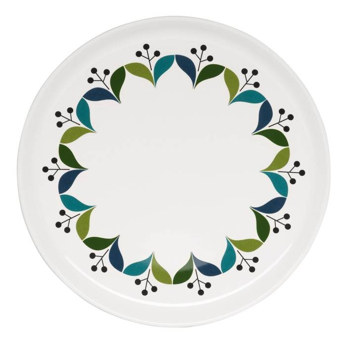 Porcelánový talířek Retro průměr 21 cm - Sagaform