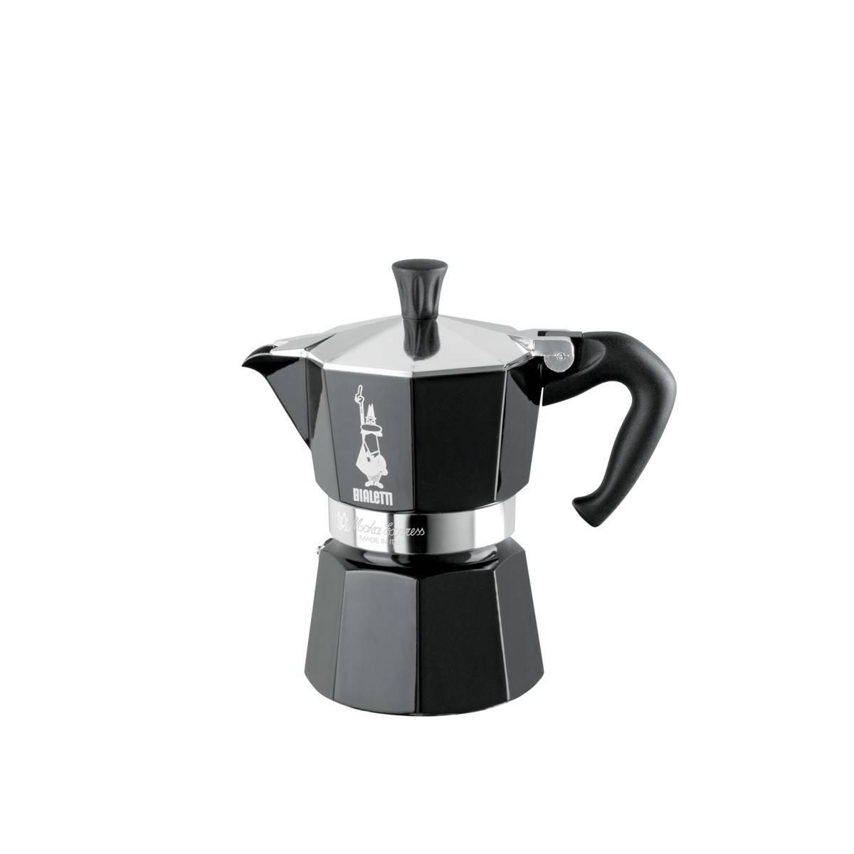 Bialetti kávovar Moka Express černý na 3 šálky - Bialetti + dárek k nákupu