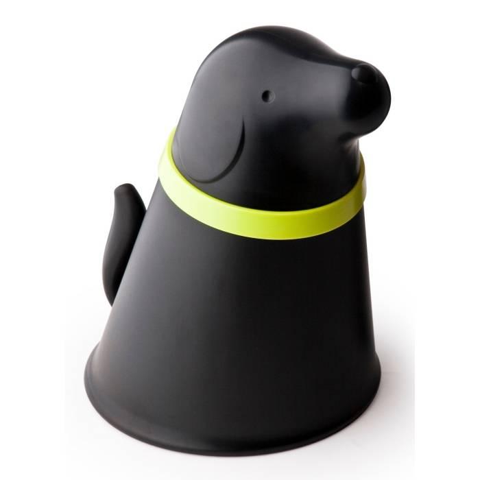Fotografie Miska pro psa se zásobníkem krmiva Pupp, černá - QUALY