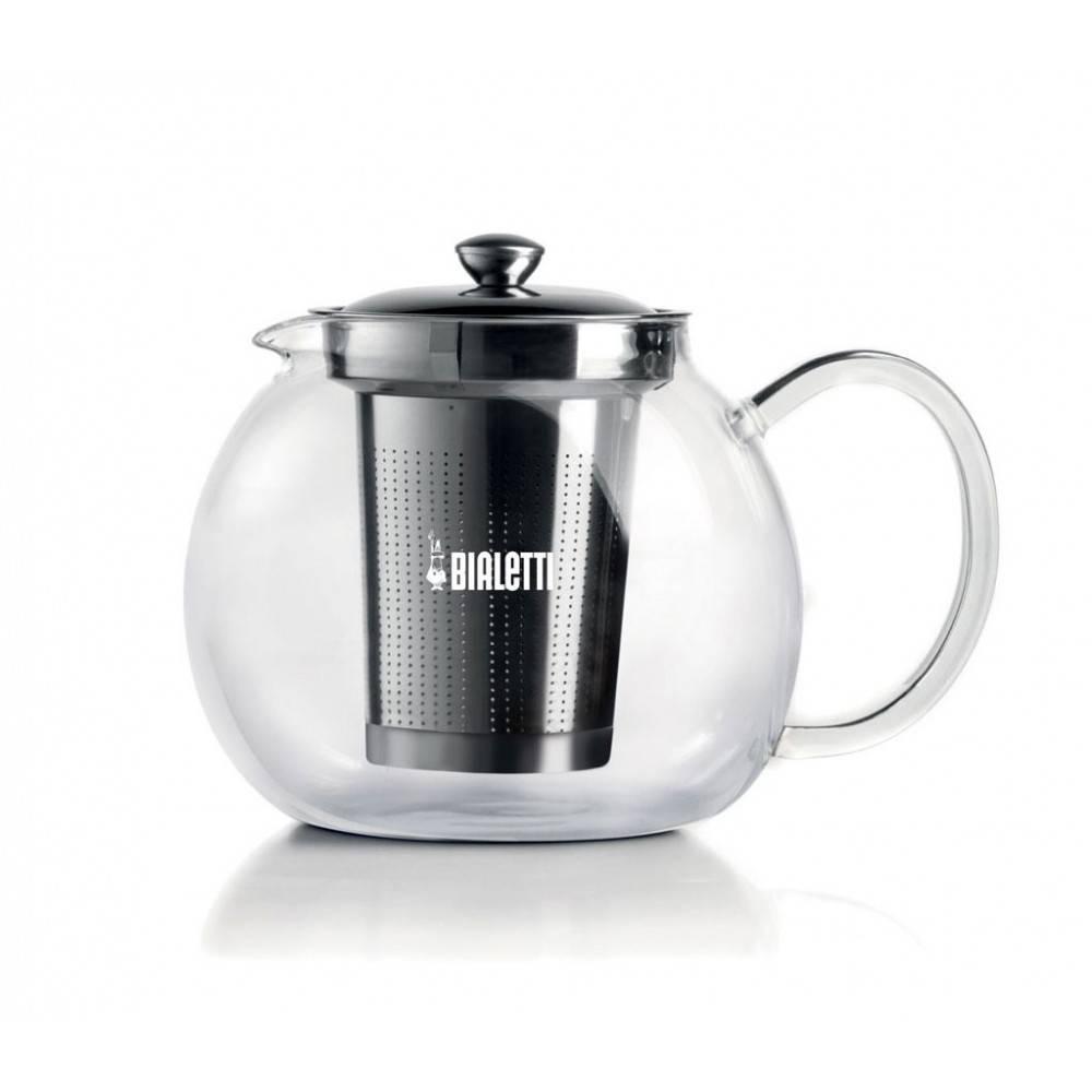 Bialetti čajová konvice Glass Teapress 1l - Bialetti