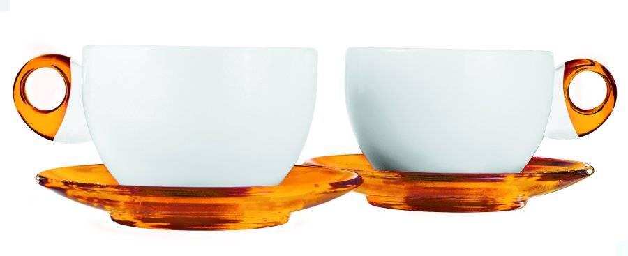 Guzzini sada 2 šálků na čaj Art&Café v dárkovém balení - Guzzini