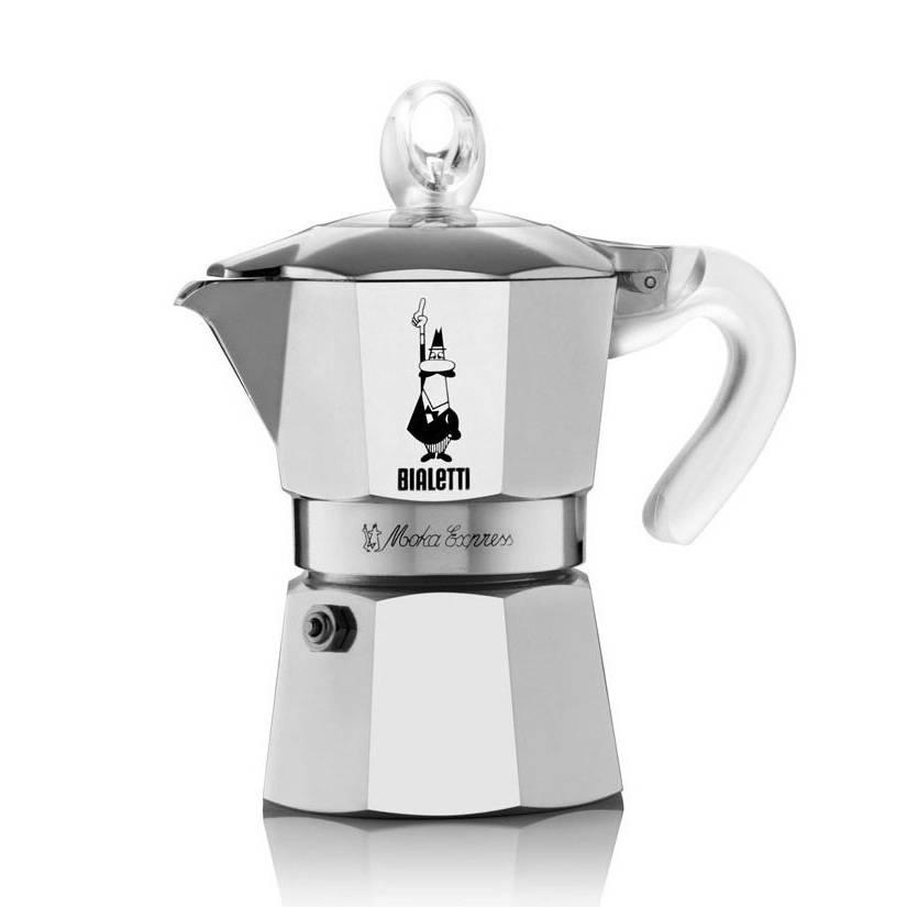 Bialetti Moka Glossy kávovar na 3 šálky - Bialetti + dárek k nákupu