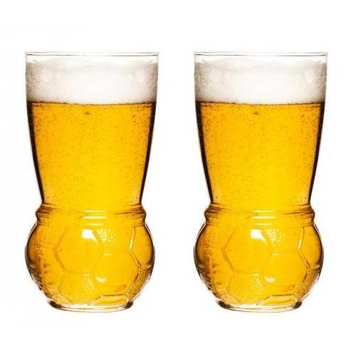 Sagaform fotbalové pivní sklenice, 2ks - Sagaform