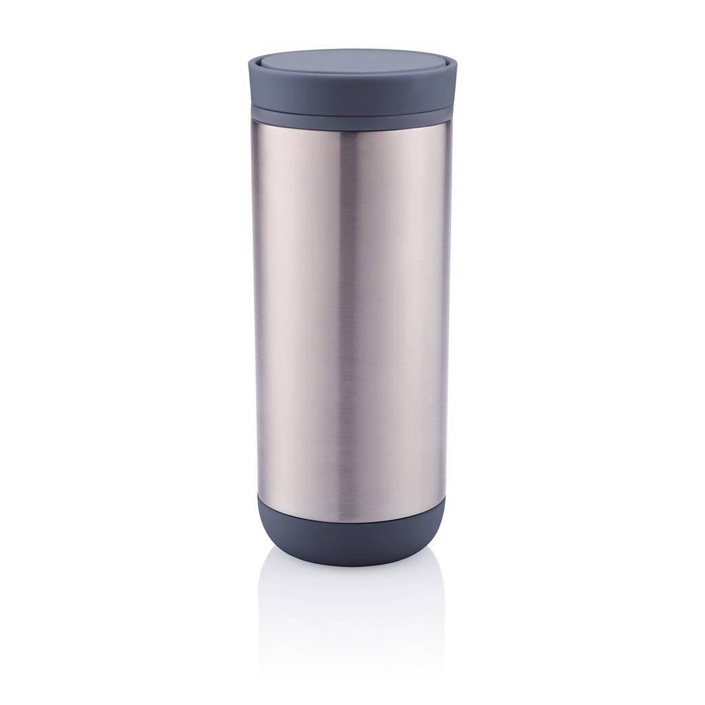 Termohrnek Clik 225 ml, šedý - XD Design