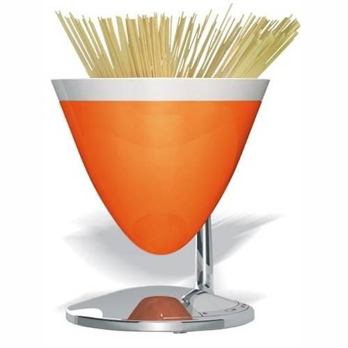Elektrická váha a minutka UMA, oranžová - Casa Bugatti
