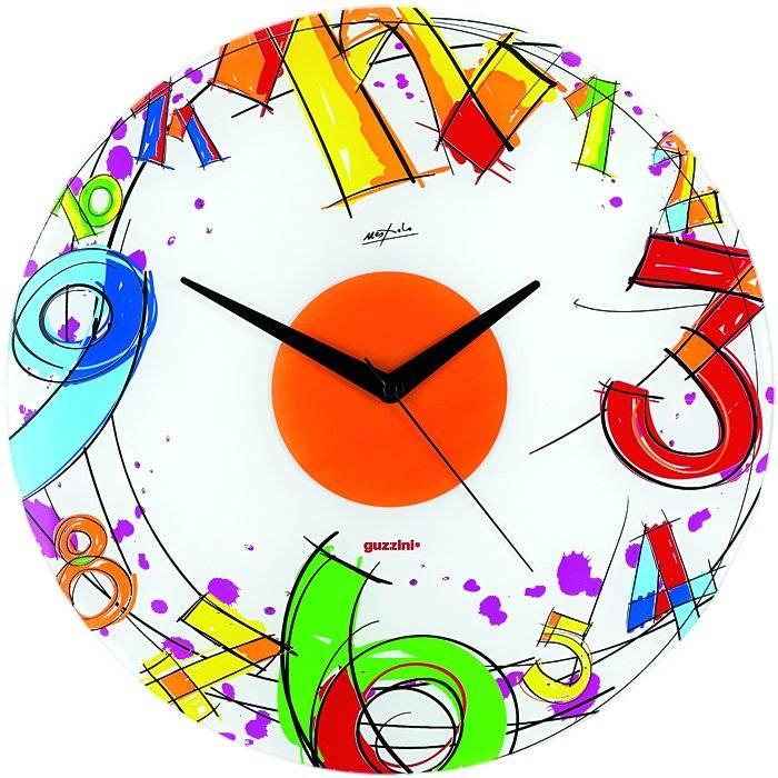 Nástěnné skleněné hodiny Number - Guzzini