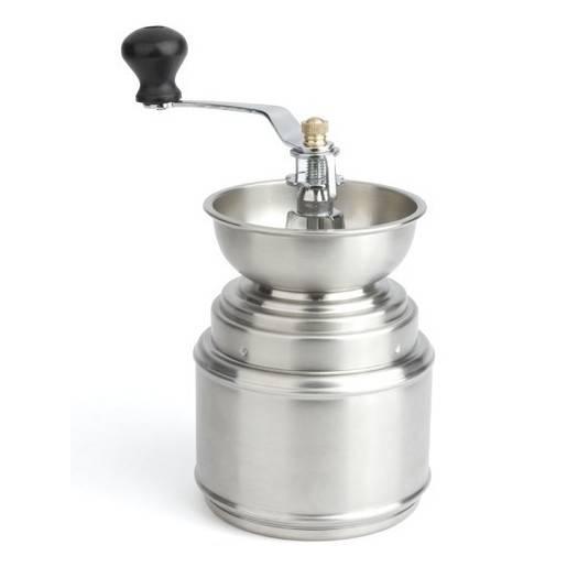 Fotografie Nerezový mlýnek na kávu - Leopold