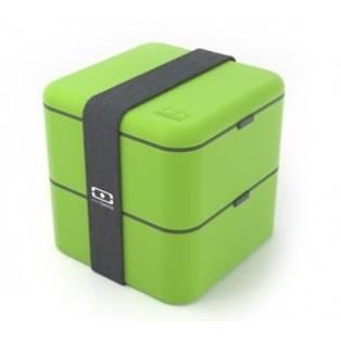 Monbento velký svačinový box duo, zelený - Monbento