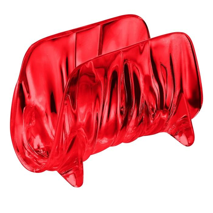 Stojánek na ubrousky Aqua, červený - Guzzini