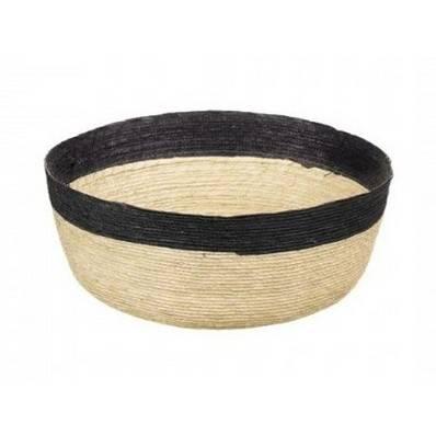Proutěný košík Makaua s černým lemem - ASA Selection