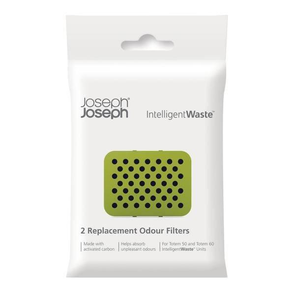 Náhradní uhlíkové filtry do koše IntelligentWaste Totem - Joseph Joseph