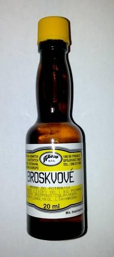 Potravinářské aroma - broskev 20ml - AROCO