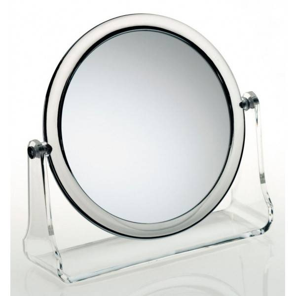 Kela kosmetické zrcátko LIA akryl 5x zvětšující KL-20738