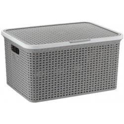 Box na prádlo 38l Rio šedivý - Kela