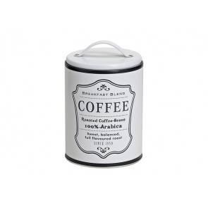 Fotografie Dóza na kafe 16x10cm kovová - Kolouch Import