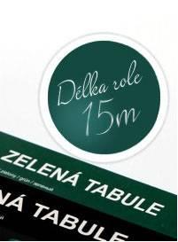 Černá nalepovací tabule 45x15m - Nalepovací tabule
