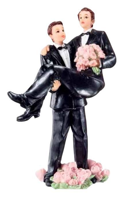 Svatební figurka na dort on a on - Florensuc