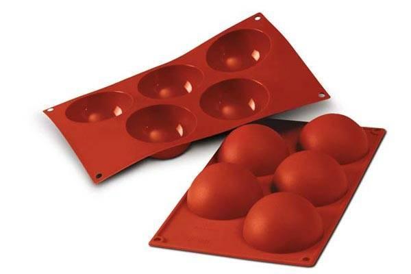Fotografie Silikonová forma na pečení – kopule - Silikomart