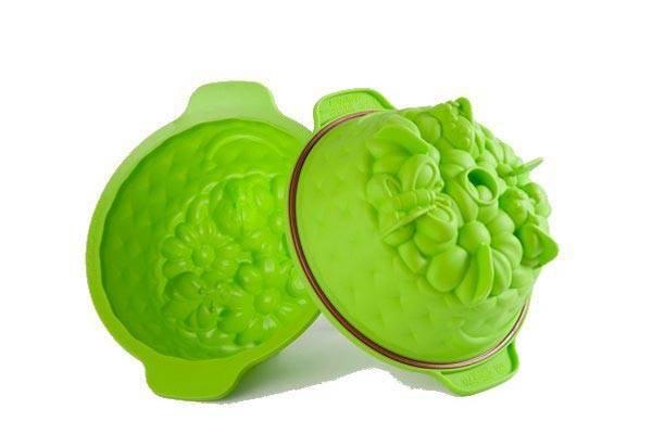 Silikonová forma na dort zelená průměr 20cm - Silikomart