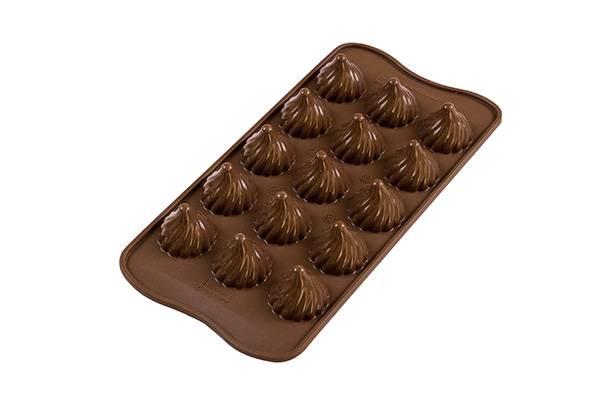 Silikonová forma na čokoládu – špičky - Silikomart